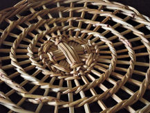 Special Basket Base that's Woven with Spaces