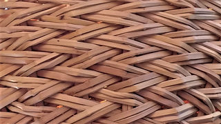 Willow basket weaving techniques: Two way weave - Advanced French randing application