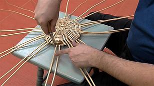 Basket Weaving_ Staking Up - Adding Upri