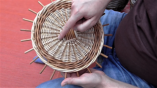 Willow Basket Weaving: Round Bases - Online Course