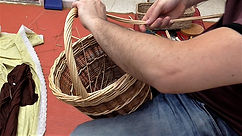 Weaving a Basket Handle - Beginners Tutorial