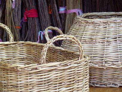 Fine Braided Basket Handles