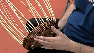 Willow Basketry Techniques - Basic Waling Bands (Video)