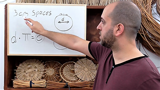 Willow basket weaving: Round bases theory - Video Lesson