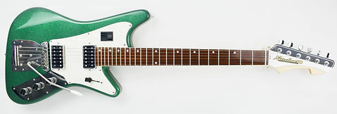 RETRATONE 66 METALLIC GREEN HUMBUCKERS 2