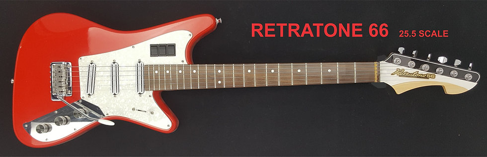 RETRATONE 56  25.5 SCALE,  RED
