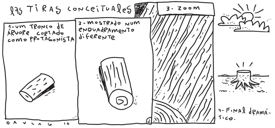 Las tiras conceituales