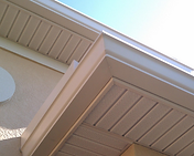 Gutter, Seamless Gutters, Gutter Installation, Gutter Repair, Soffit, Fascia, Leaf Guards, Re-Screen, Screen Lanai