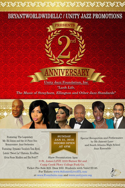 UJF 2nd Anniversary Flyer