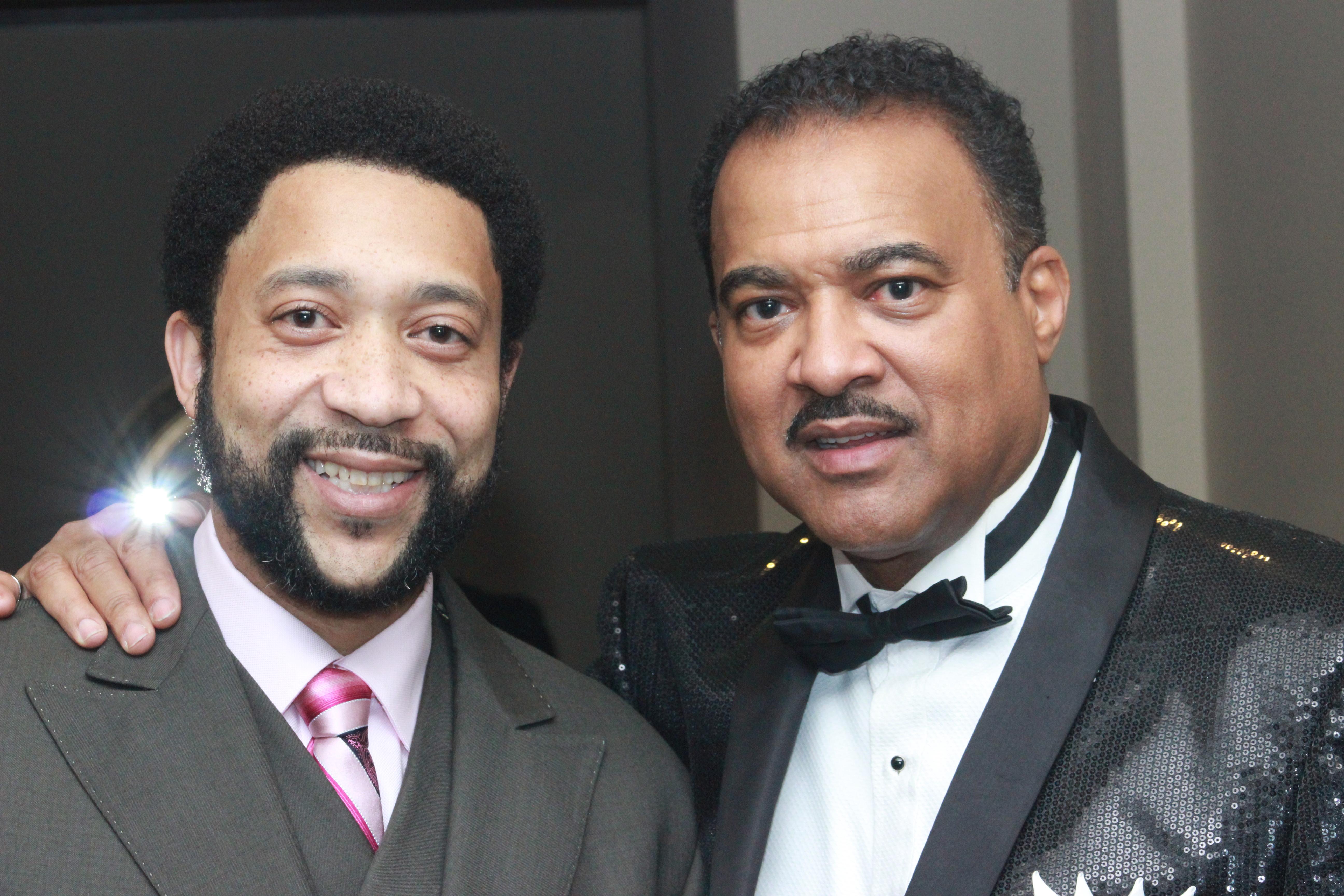 Event MC James Benson and Alvin