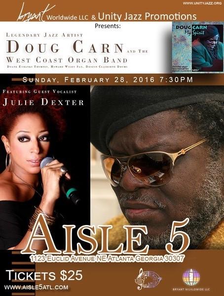 UJF Doug Carn Julie Dexter