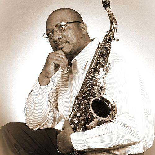 Saxophonist Dexter Tolson