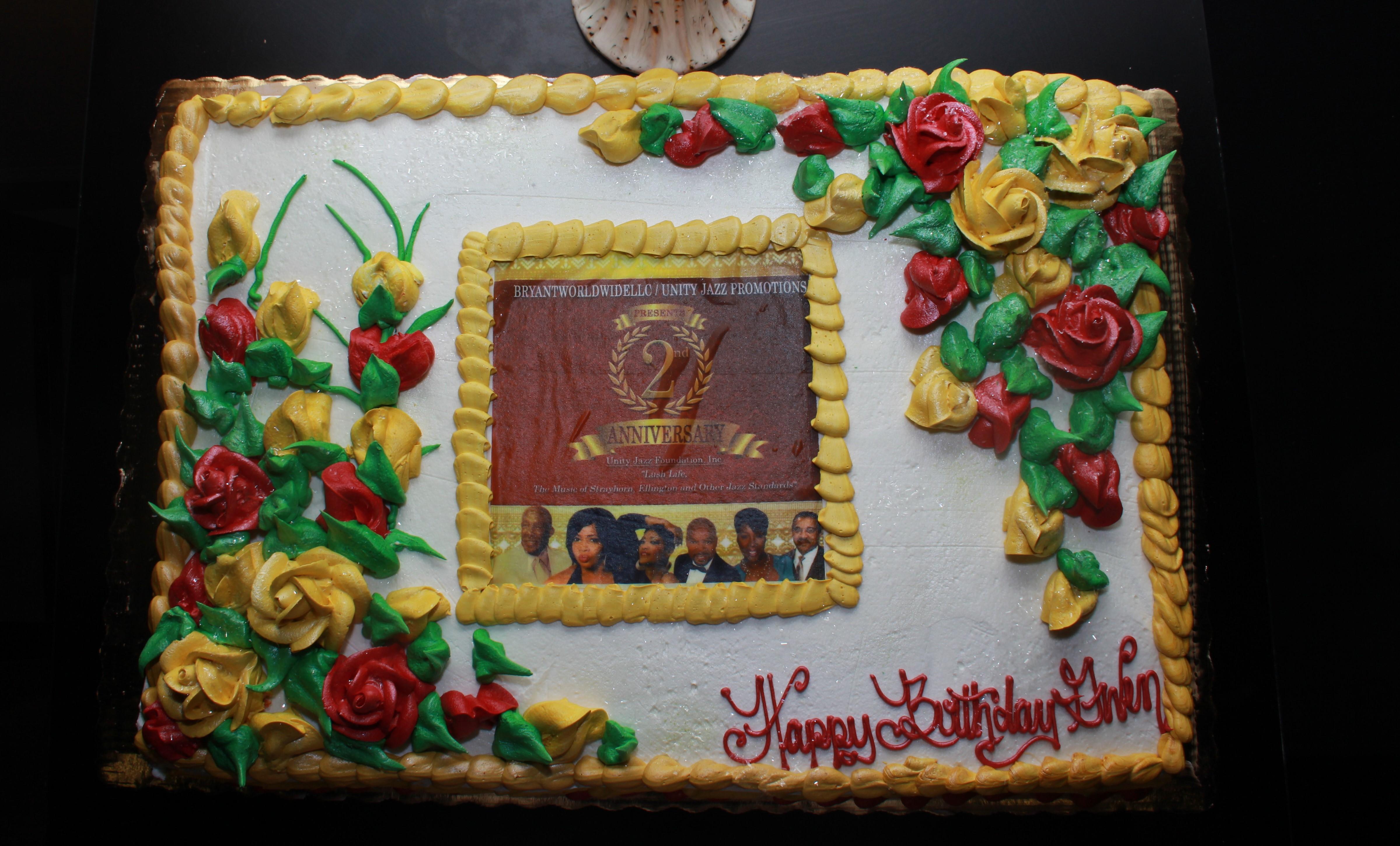 UJF 2nd Anniversary Cake