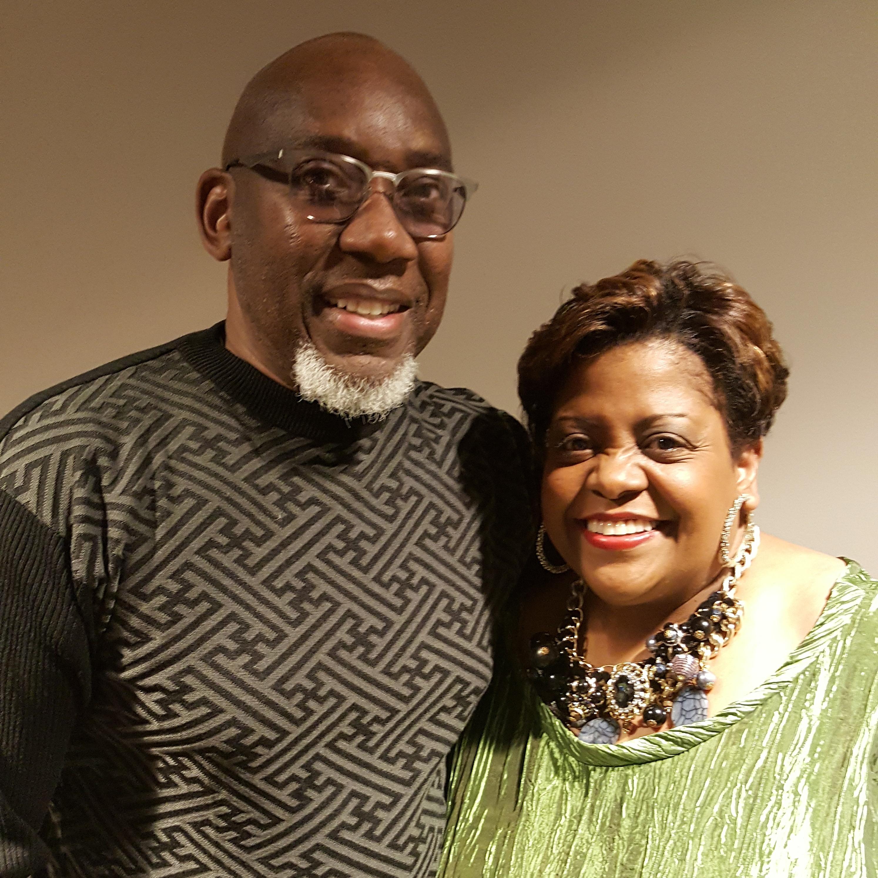 Stan Bryant and Carmen Bradford