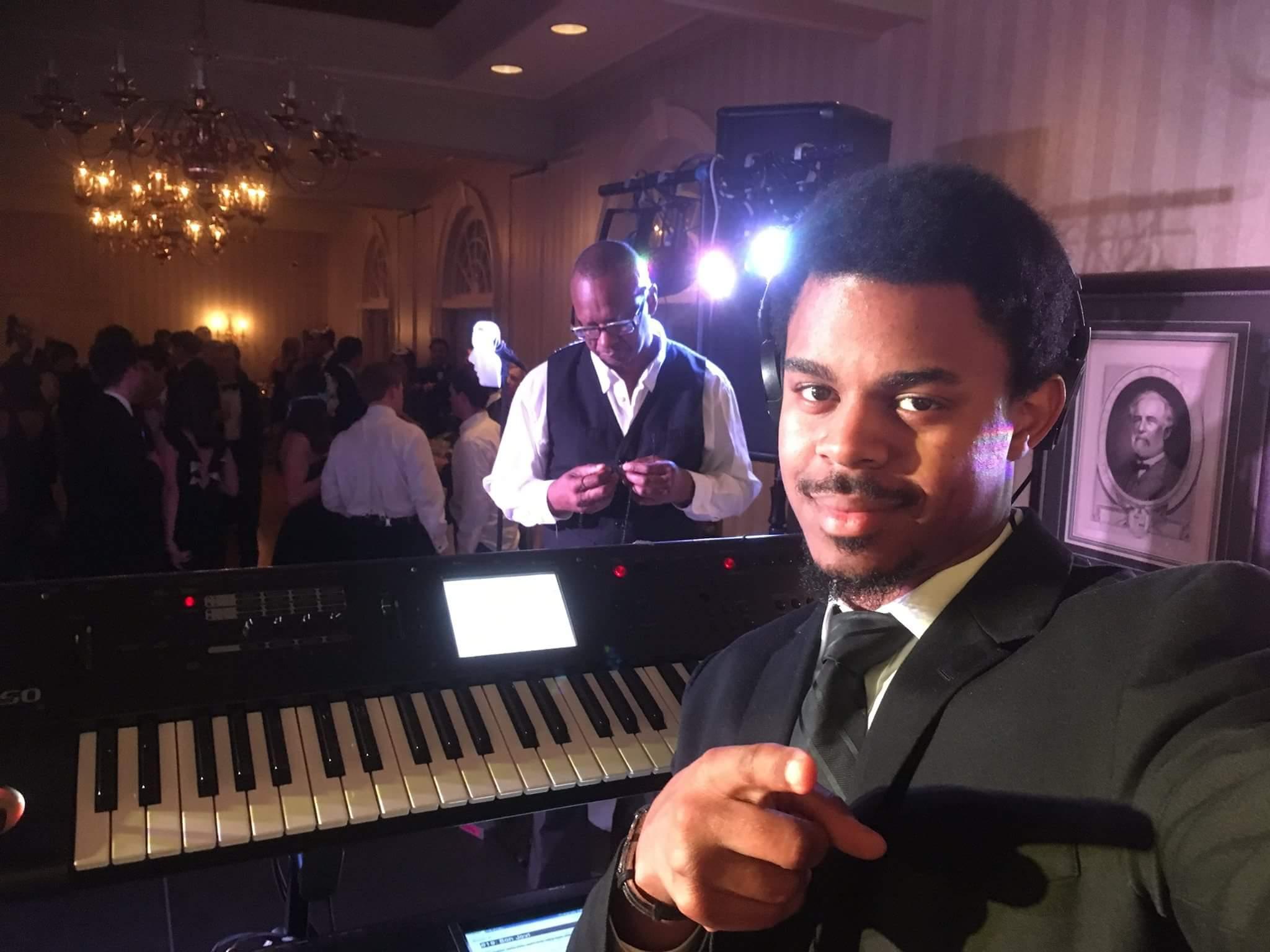 Pianist Phil Adair