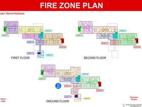 Fire Alarm Zone Plans