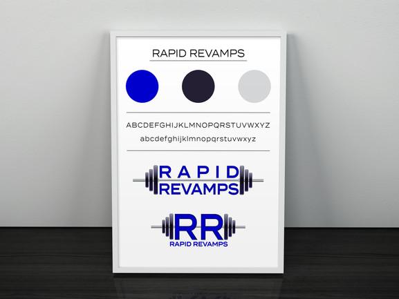 RAPID REVAMPS - Artwork Frame PSD Mockup