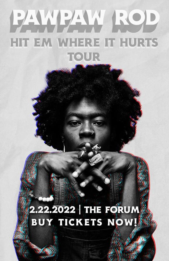 PawpawRod Concert Tour Poster