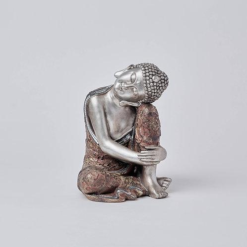 Resting Buddha (Silver)