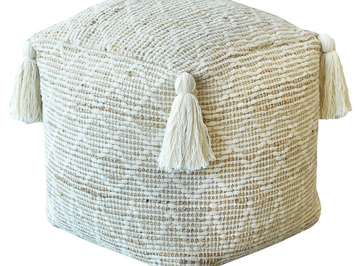 Block Pouf (Natural)