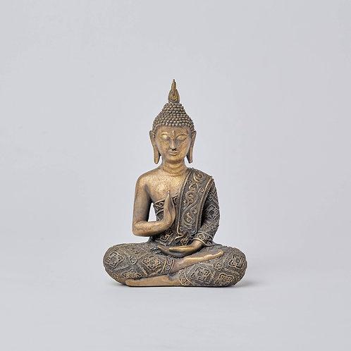 Sitting Buddha (Gold)