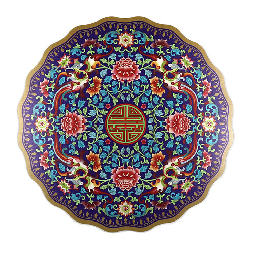 Mouse Pad (Purple Traditional Motif )