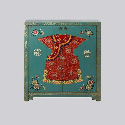 Robe Shoe Cabinet (Turquoise)