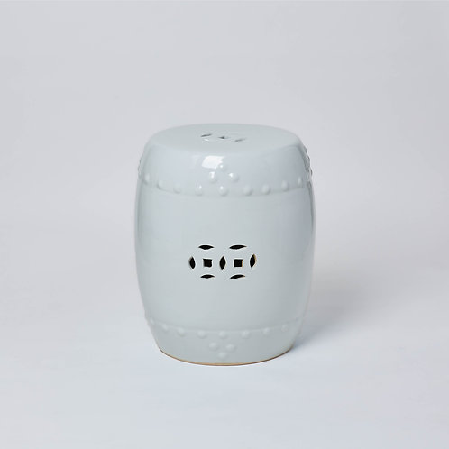Ceramic stool for outdoor use with Free Delivery. No Sale Affordable Chinese furniture at Lims.
