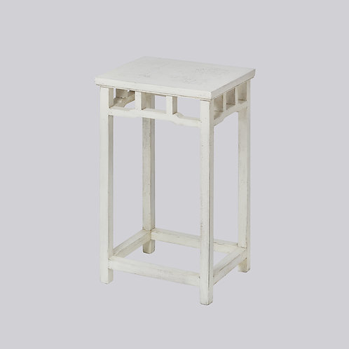 Side Table (White Antique)