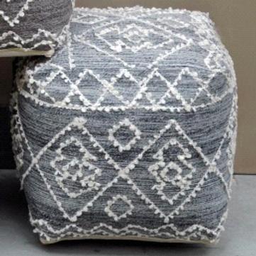 Block Pouf (Grey)
