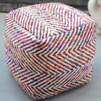 Block pouf (Multi)
