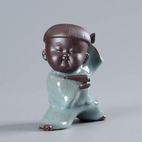 Chinese celadon figurines are great gifts.  We are not Lims Legacy and are located in Holland Village