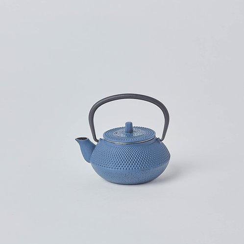Cast Iron Teapot 0.3L (Blue Spotted)