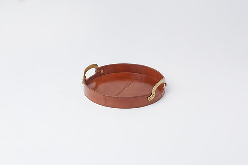 Leather Tray - Round