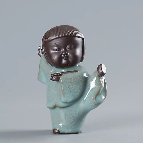 Chinese celadon figurines are great gifts. Wide selection at Lim's Holland Village