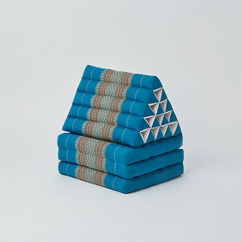Triangle Cushion (Turquoise)