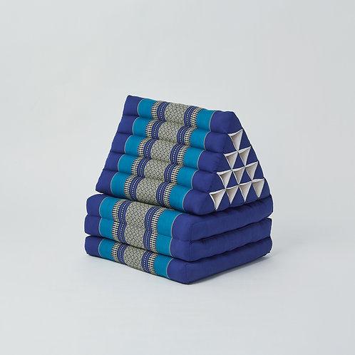 Triangle Cushion (Blue)