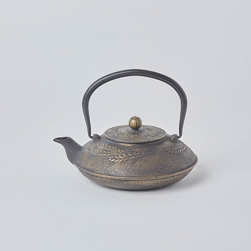 Cast Iron Teapot 1.2L (Black Maize)