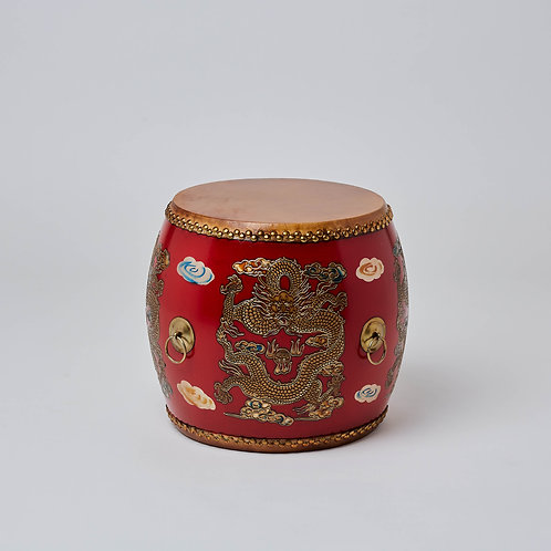 Popular shopping destination.Oriental hand painted chair bench with colourful designs.