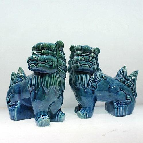 Chinese Unicorn (Blue)