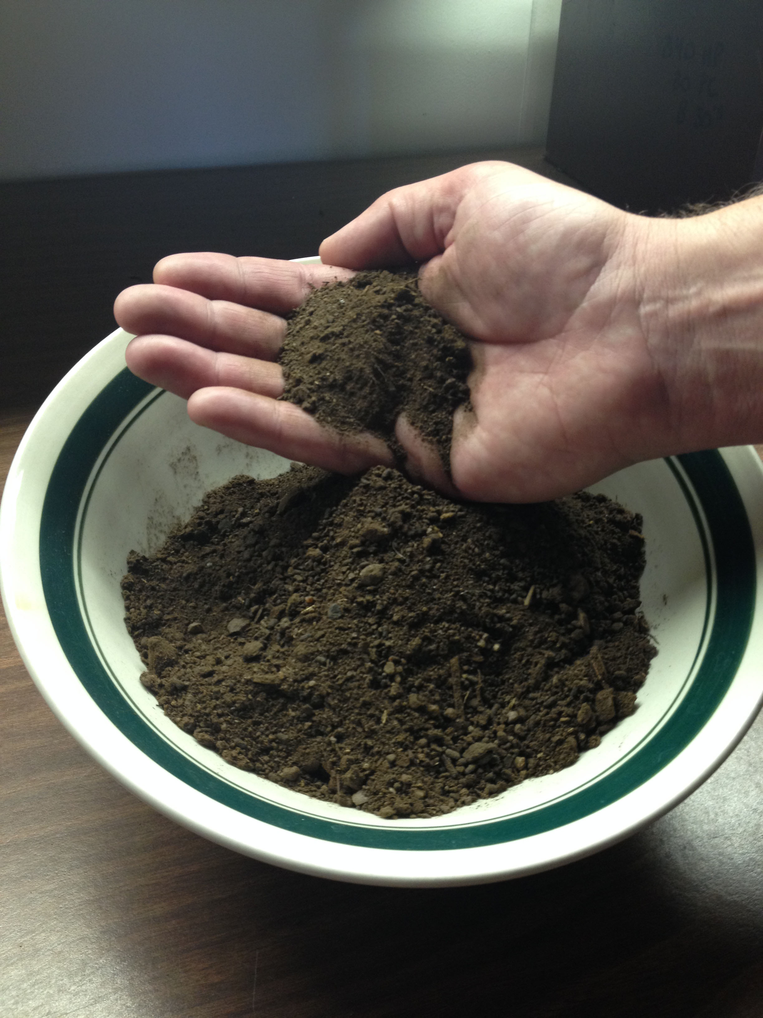 Texture and Odor of Rich Earth