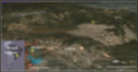 imagem google maps da cratera
