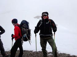 auf dem Weg zum Dhampus Peak