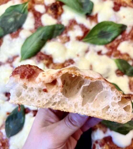 Pizza in Teglia (Sheet Pan Pizza)