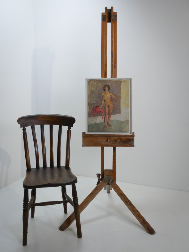 Oil on Canvas Nude