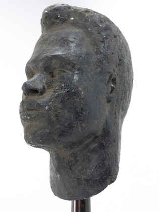 Sculpted Plaster Head
