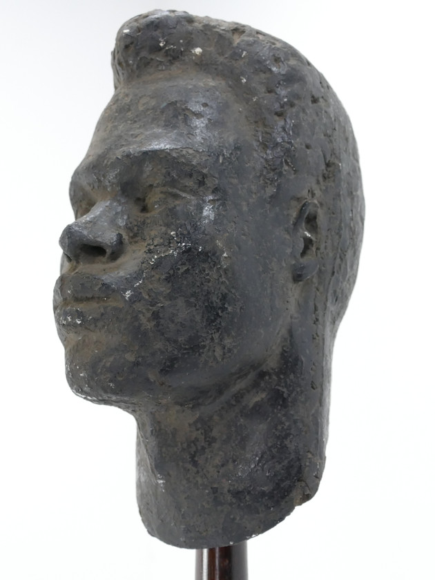Sculpted Plaster Head