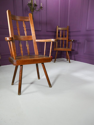 Pair of Spanish Armchairs