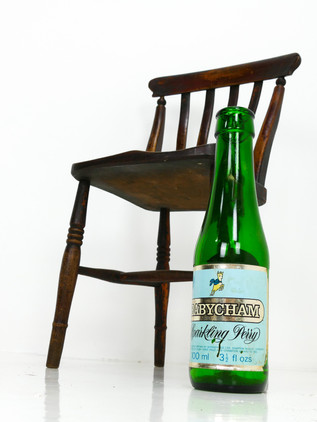 Babycham Advertising Bottle