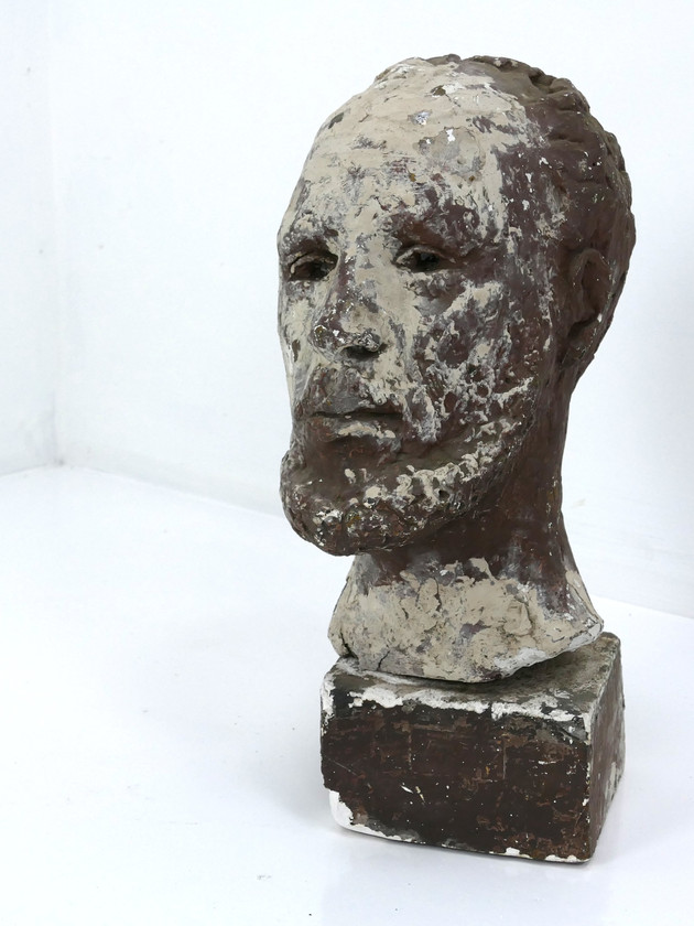 Mounted Plaster Head